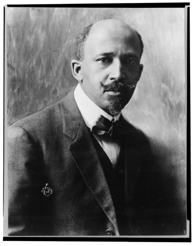 W.E.B. (William Edward Burghardt) Du Bois, 1868-1963.