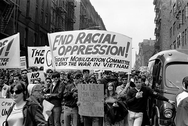 Harlem Peace March to End Racial Oppression, 1967.