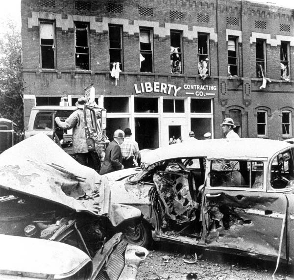 Sixteenth Street Baptist Church bombing.