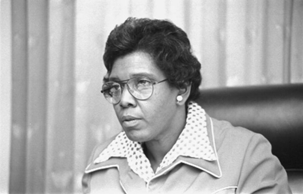 Barbara Jordan, 1976 member of the U.S. House of Representatives (D-Texas).