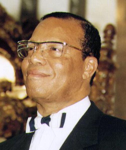 Louis Farrakhan.